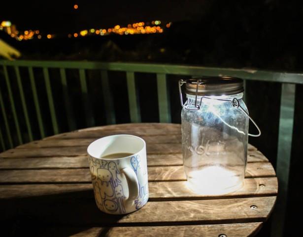 warm night in cape town