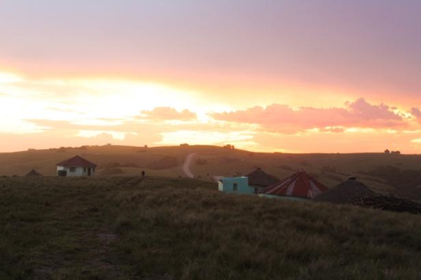 Sunset at Bulungula