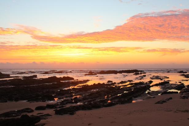 Sunrise at Bulungula