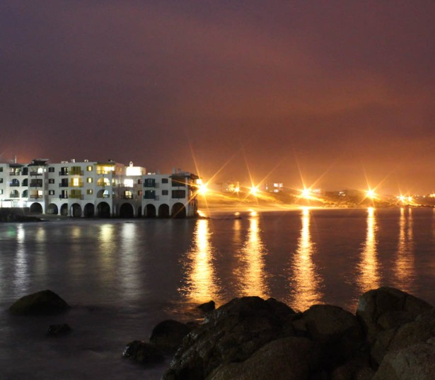 club mykonos at night