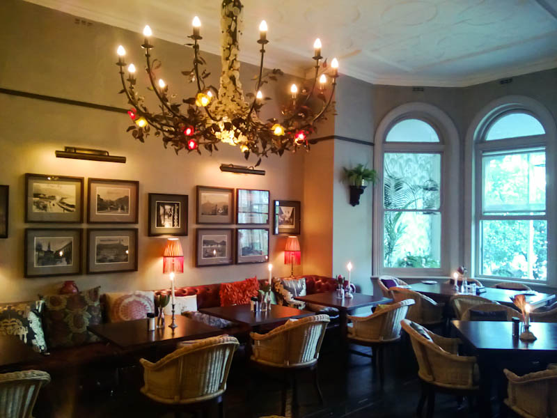 Kloof House Restaurant Cape Town