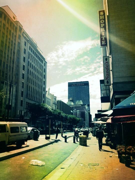 Down town Cape Town